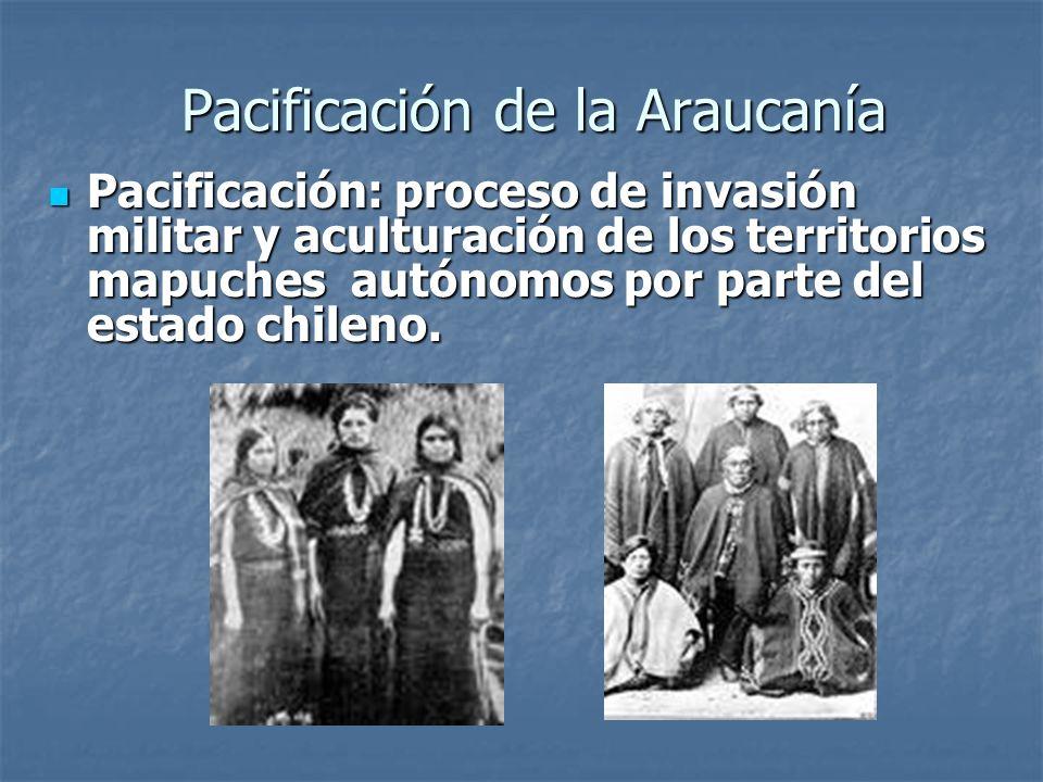 En 1880, los mapuches vuelven a sublevarse, aprovechando que el gobierno se concentrara en la Guerra del Pacífico.