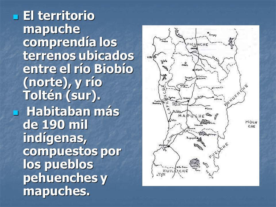 Antecedentes Previos: Pueblo Mapuche: guerreros que desde el periodo de la conquista y todo el periodo colonial, se rehusaban al sometimiento a la Corona Española.