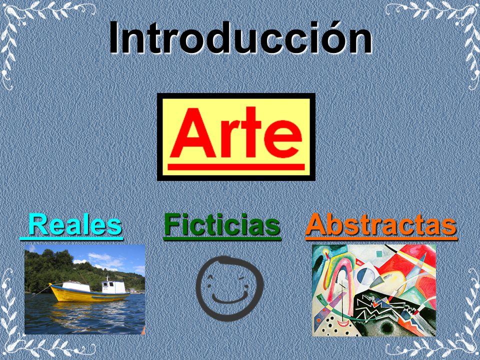Introducción Reales F Ficticias A Abstractas