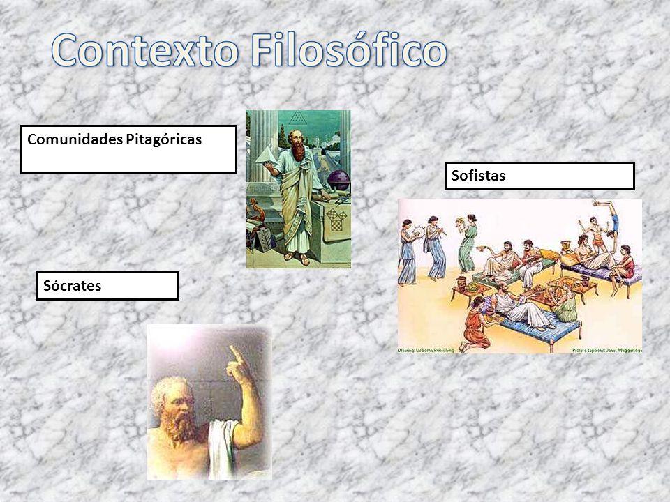 Comunidades Pitagóricas Sofistas Sócrates
