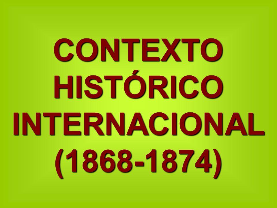 En estos años se culmina la unificación de Italia y Alemania y se constituyen como nuevos estados en 1871.