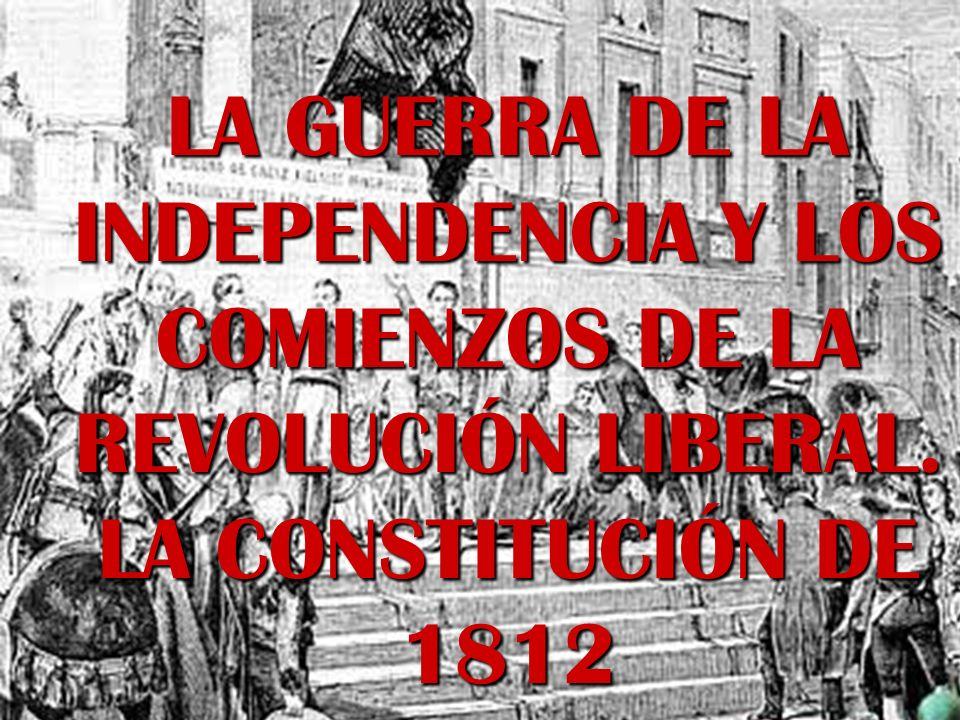SECTOR REVOLUCIONARIO - Son los liberales que impondrán su ideología en los debates de las Cortes.