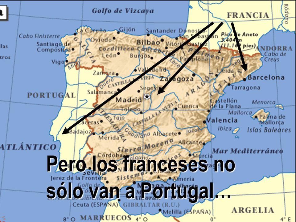 Pero los franceses no sólo van a Portugal…