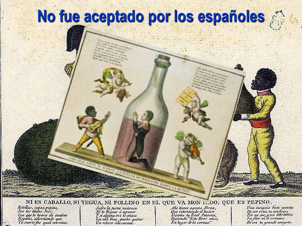 No fue aceptado por los españoles