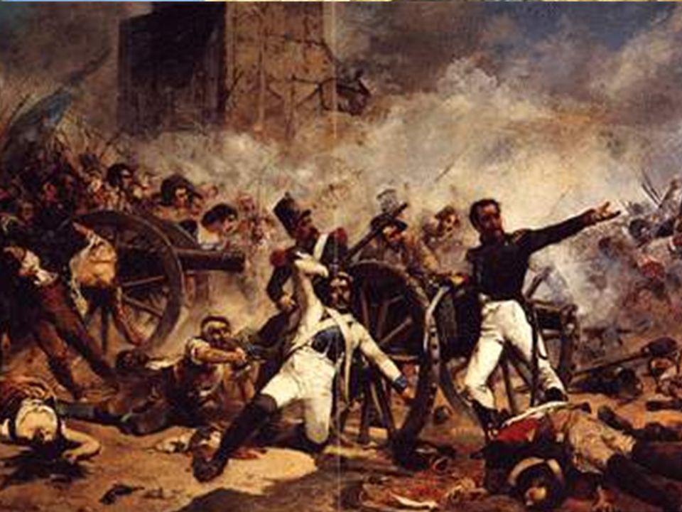 Madrid, cuartel de Artillería con los capitanes Daoíz y Velarde