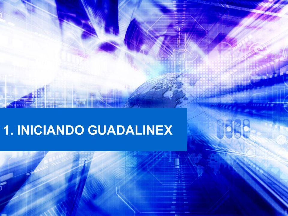 1. INICIANDO GUADALINEX