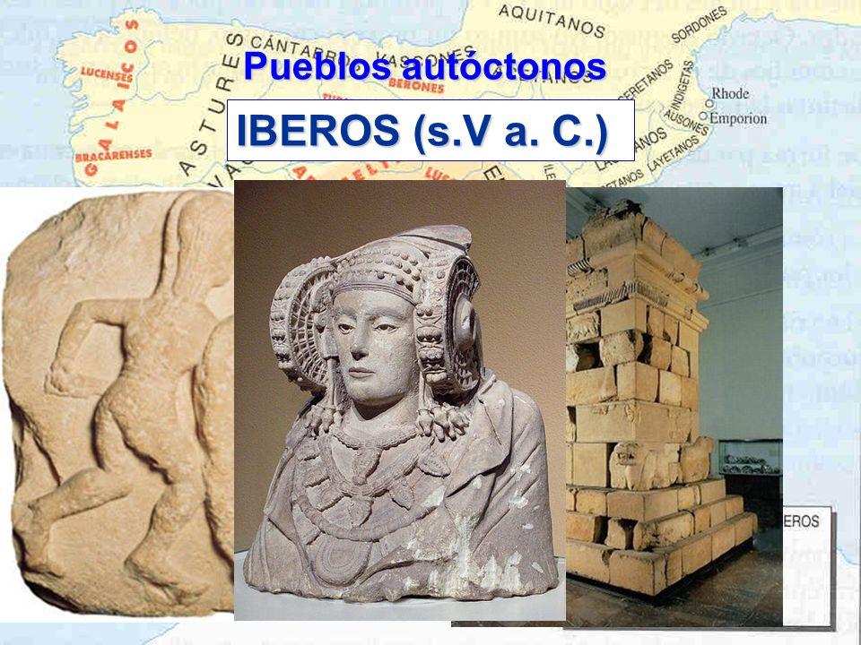IBEROS (s.V a. C.) Pueblos autóctonos