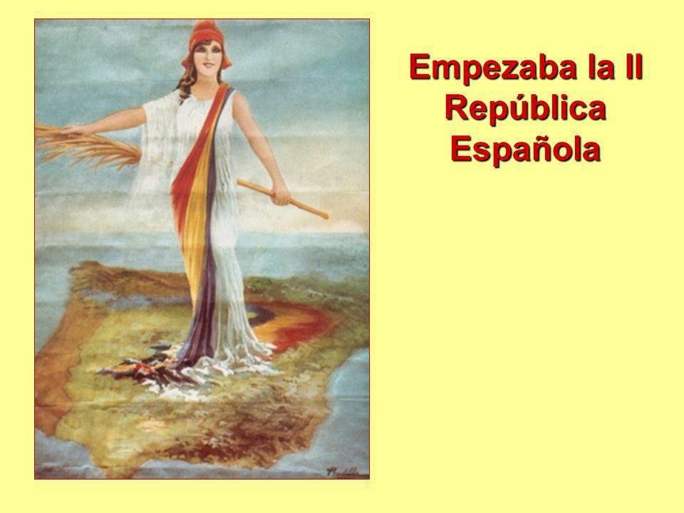 Empezaba la II República Española