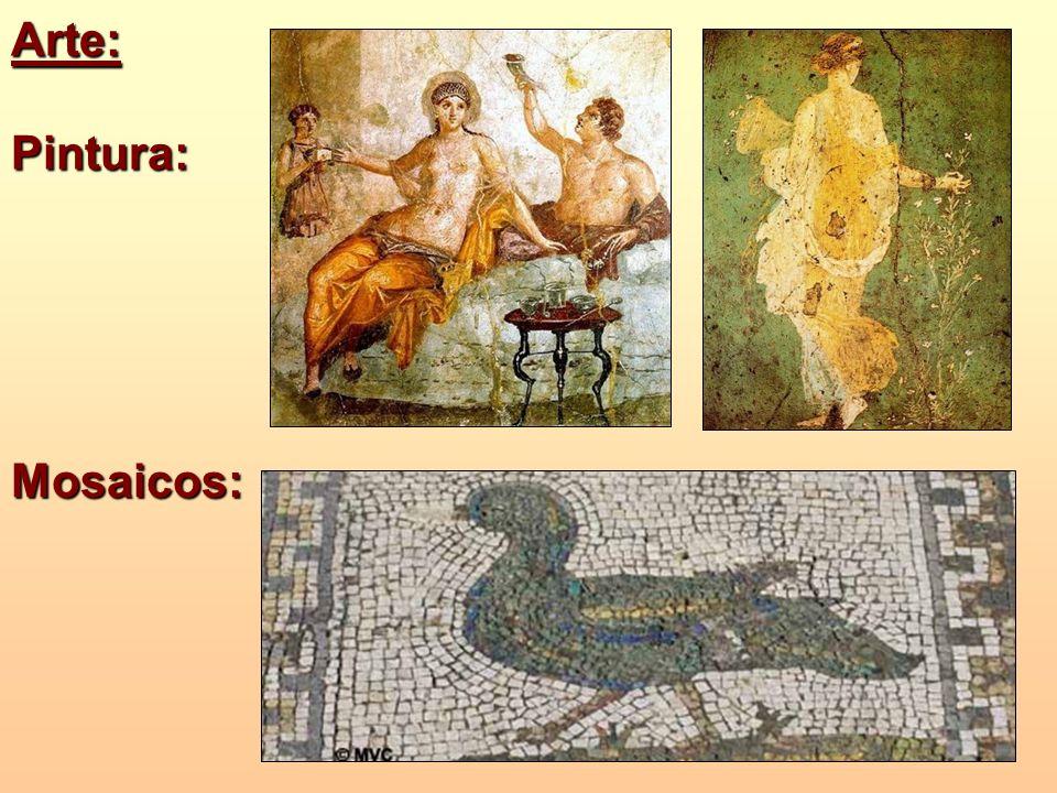 Arte:Pintura: Mosaicos: