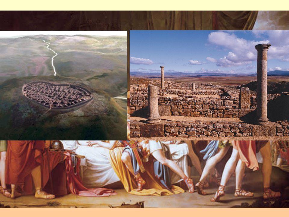 2ª) 206-29 a.C. Contra los pueblos del interior: 154-137 a.C.: - 154-137 a.C.: Guerras lusitanas contra Viriato Osuna (en Osuna: Quinto Fabio Maximo E