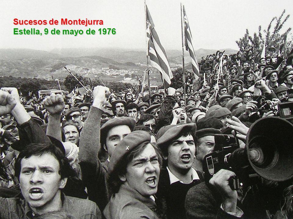 Sucesos de Montejurra Estella, 9 de mayo de 1976