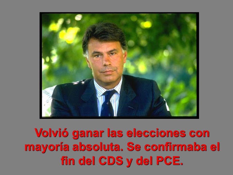 En el PCE dimite Santiago Carrillo y tras la sucesión de Gerardo Iglesias se organiza Izquierda Unida (IU).