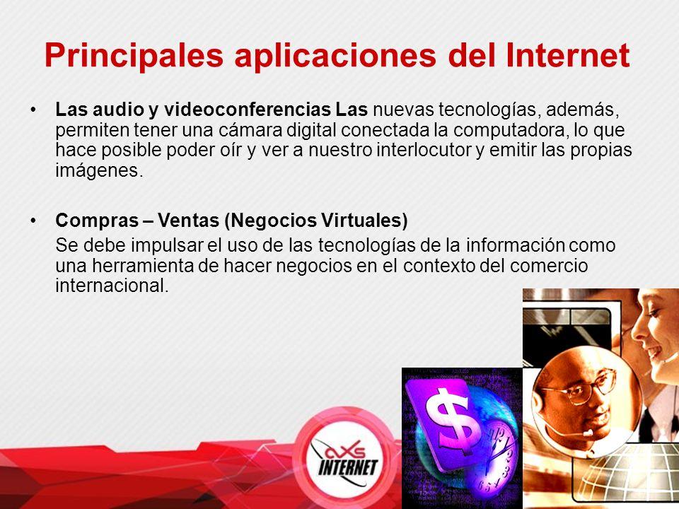 Las audio y videoconferencias Las nuevas tecnologías, además, permiten tener una cámara digital conectada la computadora, lo que hace posible poder oír y ver a nuestro interlocutor y emitir las propias imágenes.