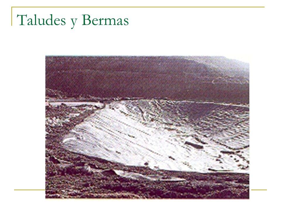 Taludes y Bermas