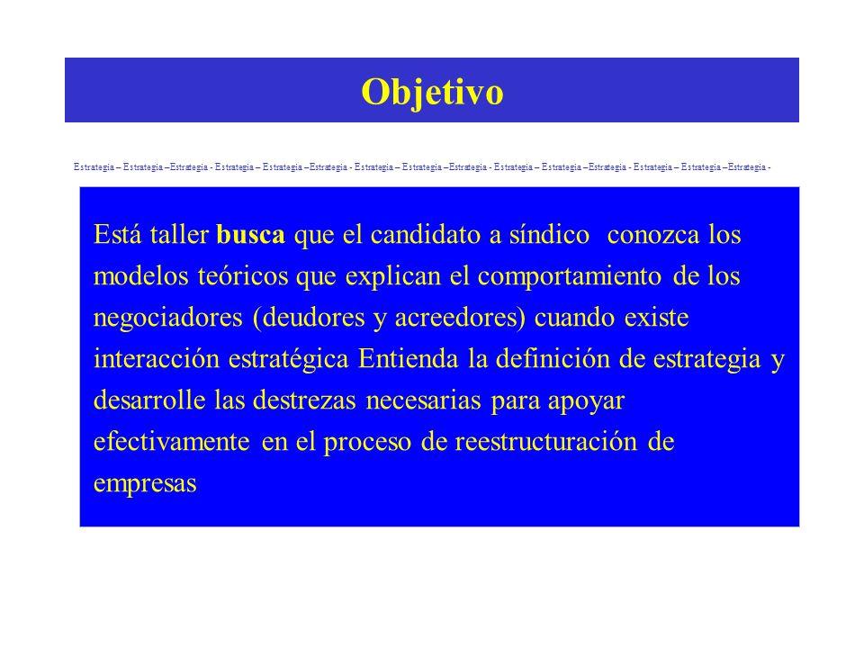 1 Instructor: Guido Capra S MBA, MEE Marzo de 2004 Taller No. 14 Estrategia