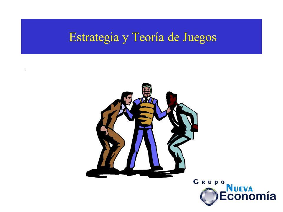 Estrategia y Teoría de Juegos.