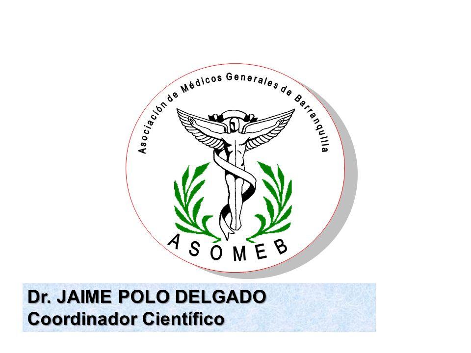 Dr. JAIME POLO DELGADO Coordinador Científico