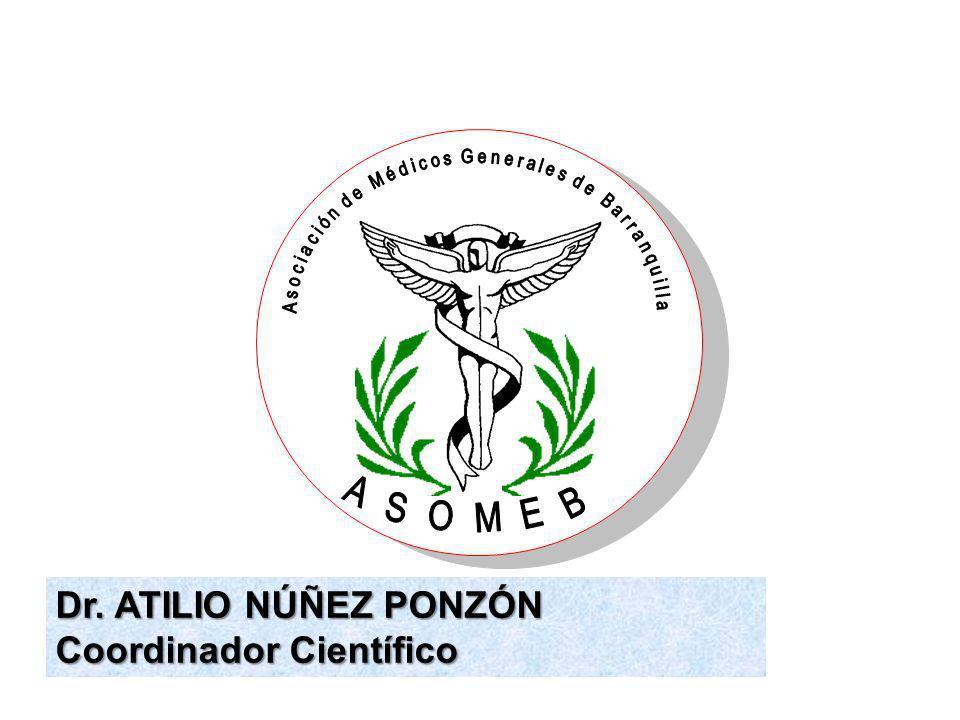 Dr. ATILIO NÚÑEZ PONZÓN Coordinador Científico