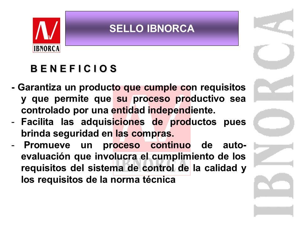 - Asegurar el cumplimiento de requisitos técnicos y legales del producto. - Facilitar la elección entre otros productos similares. - Proteger al consu