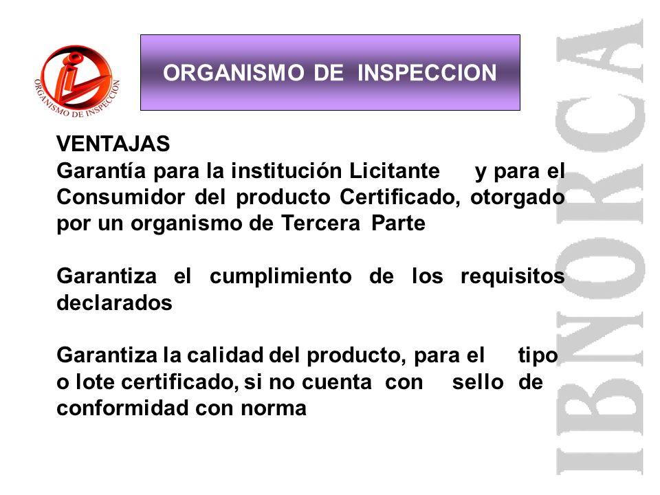 Certificación lote OIQM Paneles fotovoltaicos Tuberías de PVC Libros escolares Café de exportación No presencia de SAOs ORGANISMO DE INSPECCION