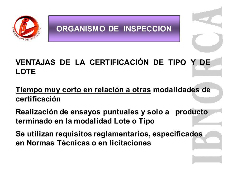 VENTAJAS Garantía para la institución Licitante y para el Consumidor del producto Certificado, otorgado por un organismo de Tercera Parte Garantiza el