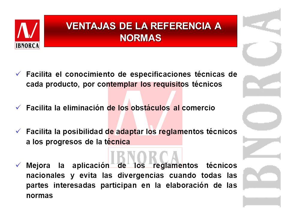 NORMA TECNICA VOLUNTARIA: Documento voluntario Accesible al público Elaborado por consenso Aprobado por un organismo reconocido Participación de todas
