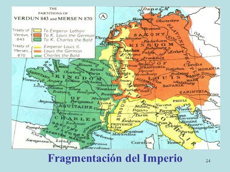 24 Fragmentación del Imperio