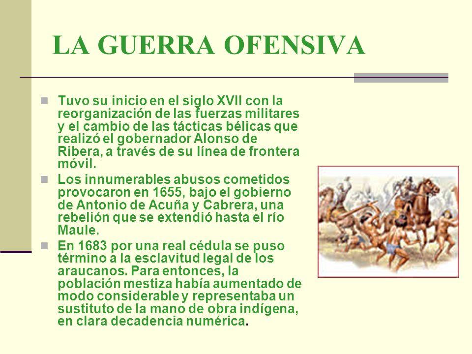 LA GUERRA OFENSIVA Tuvo su inicio en el siglo XVII con la reorganización de las fuerzas militares y el cambio de las tácticas bélicas que realizó el g