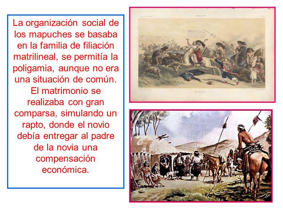 Vivieron entre el río Itata y el río Toltén, y su origen data de la mitad del siglo XIV, siendo una mezcla de Mapuches y Moluches. Eran monoteísta, si