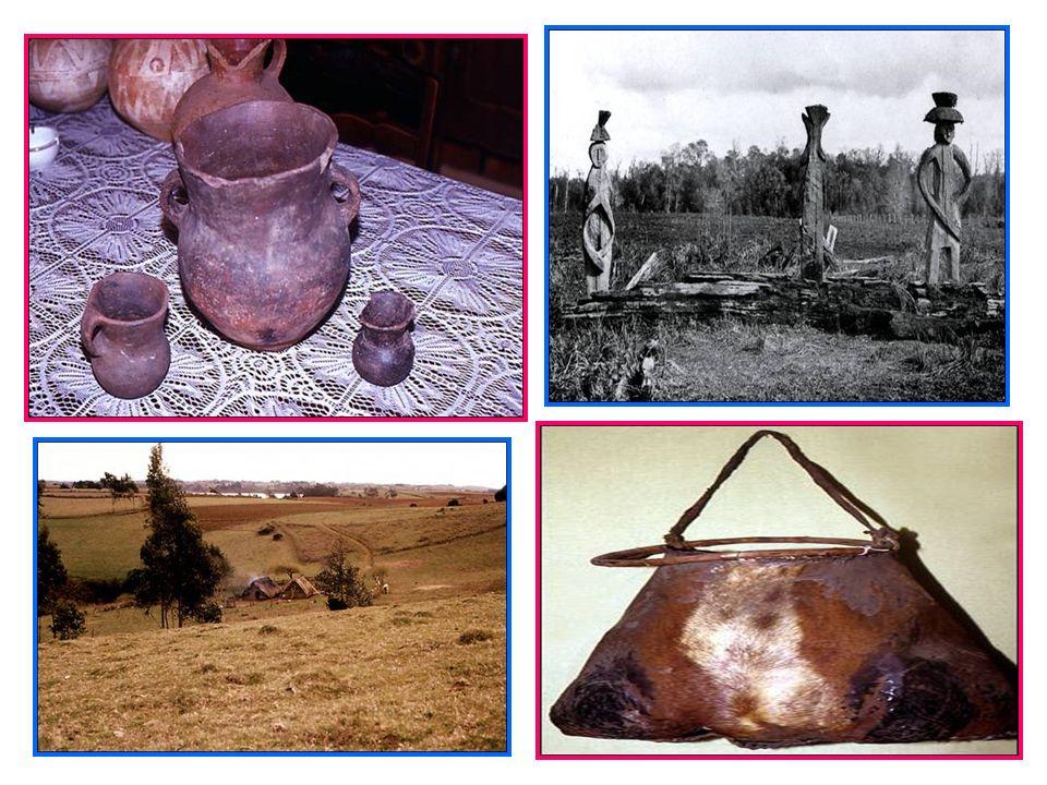Cultivaron el maíz, papas, porotos, quinoa, etc. Las tareas agrícolas eran realizadas preferentemente por las mujeres. Poseían extensos rebaños de lla