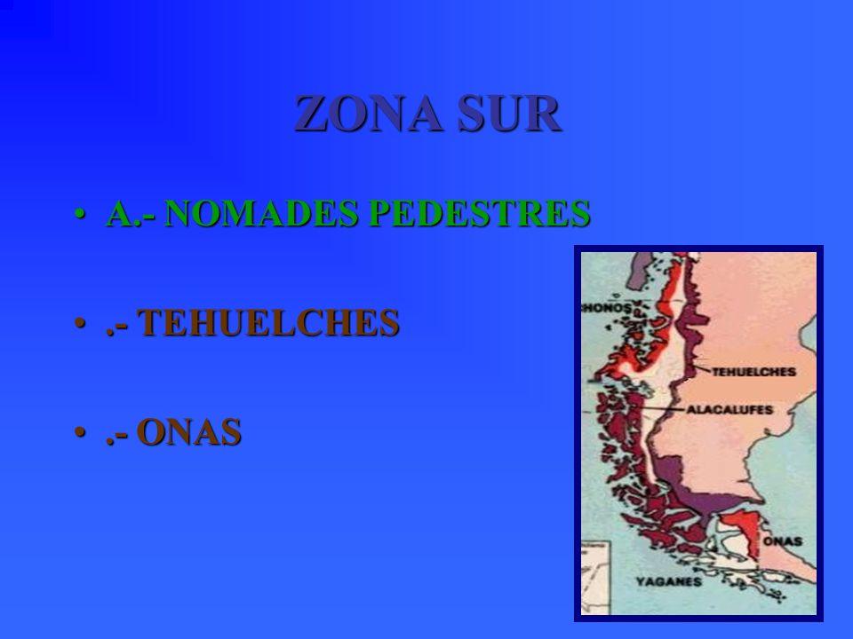 Se ubicaban al sur del Lago Nahuelhuapi, en Argentina frente a Osorno. Su organización era similar a los tehuelches. Practicaban la poliandria, es dec