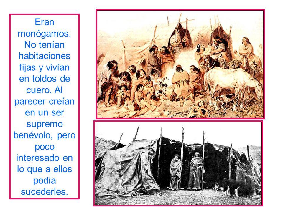 Se ubicaban en las estepas frías al norte del Estrecho de Magallanes. Su sistema era similar a los Onas. Usaban boleadoras para cazar ñandú. Se agrupa