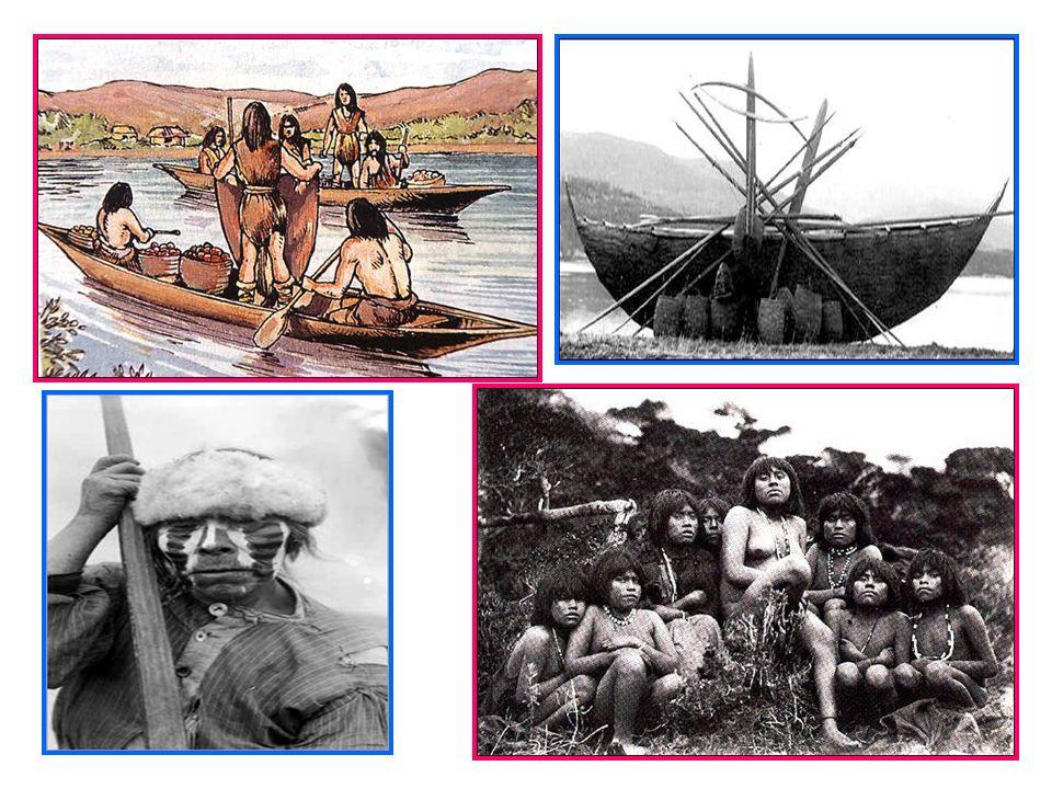 Se ubicaban en la costa austral de Tierra del Fuego. Yamana significaba ser humano. Creían en un ser supremo que confería vida ultraterrena. Su Dios e
