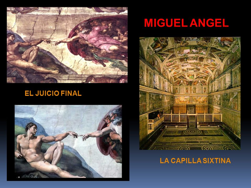 MIGUEL ANGEL EL JUICIO FINAL LA CAPILLA SIXTINA