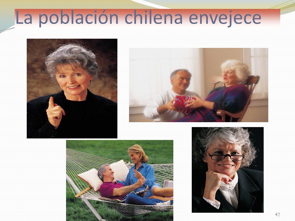 La población chilena envejece 47