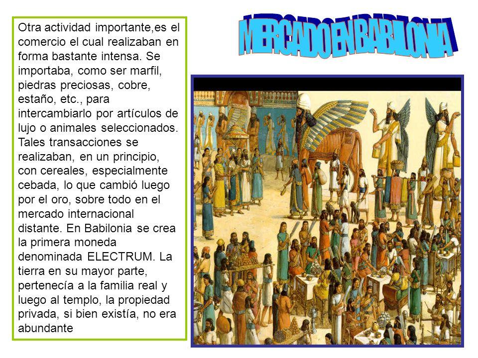 Lo característico de la sociedad mesopotámica es su diferenciación social.