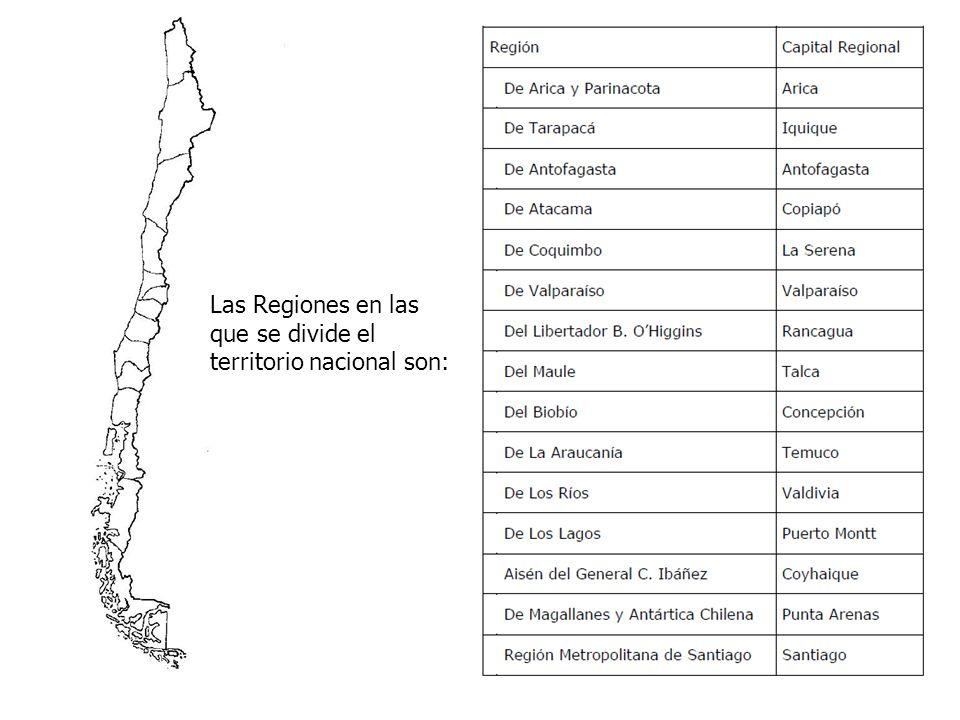 El Territorio de Chile Americano ha sido descrito como una larga y angosta faja de tierra localizada junto al Océano Pacífico.