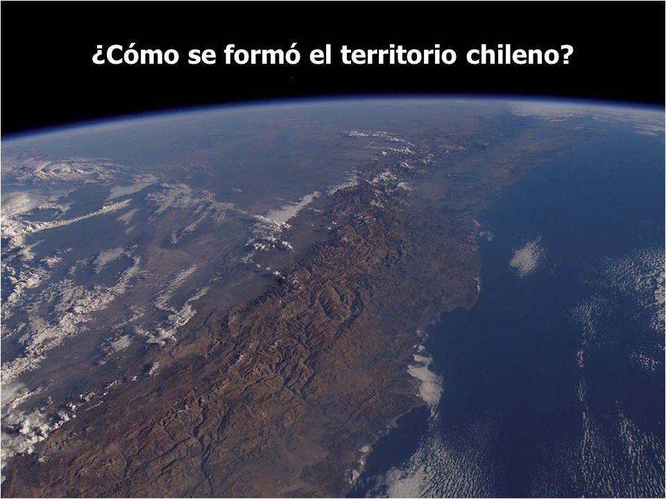 ¿Cómo se formó el territorio chileno?