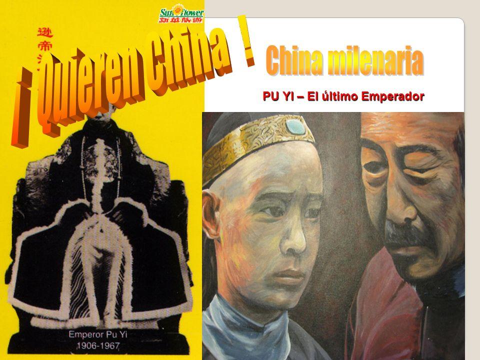 PU YI – El último Emperador