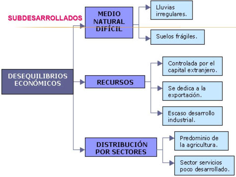 RESÚMEN DEL DESARROLLO Y EL SUBDESARROLLO