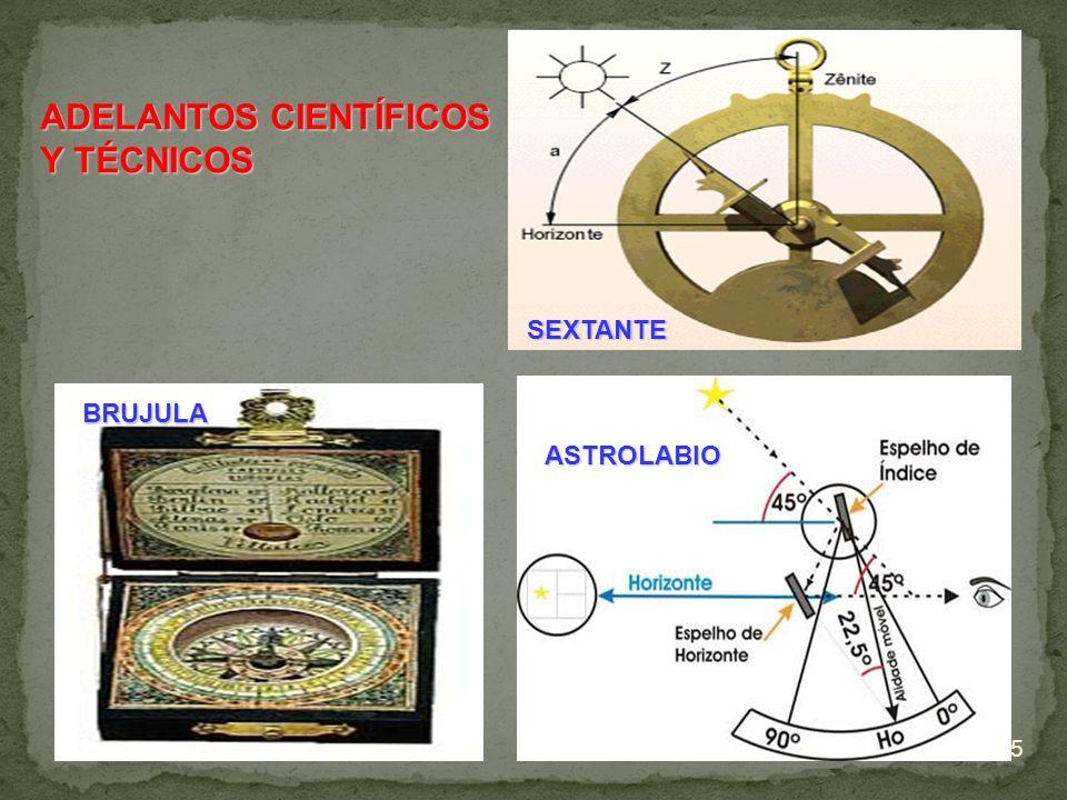 ASTROLABIO SEXTANTE BRUJULA ADELANTOS CIENTÍFICOS Y TÉCNICOS 5