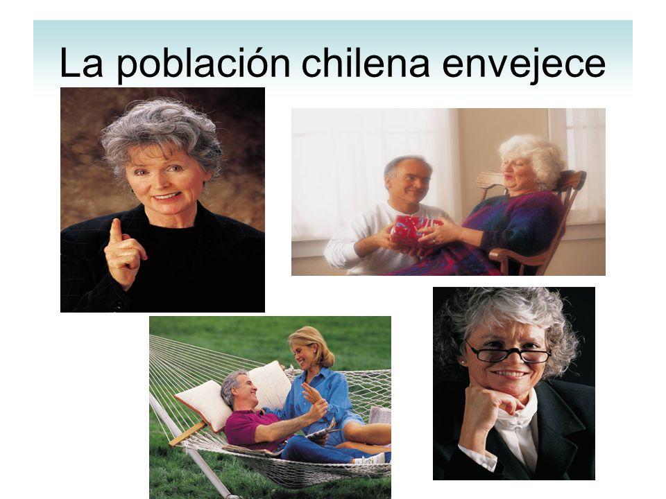 La población chilena envejece