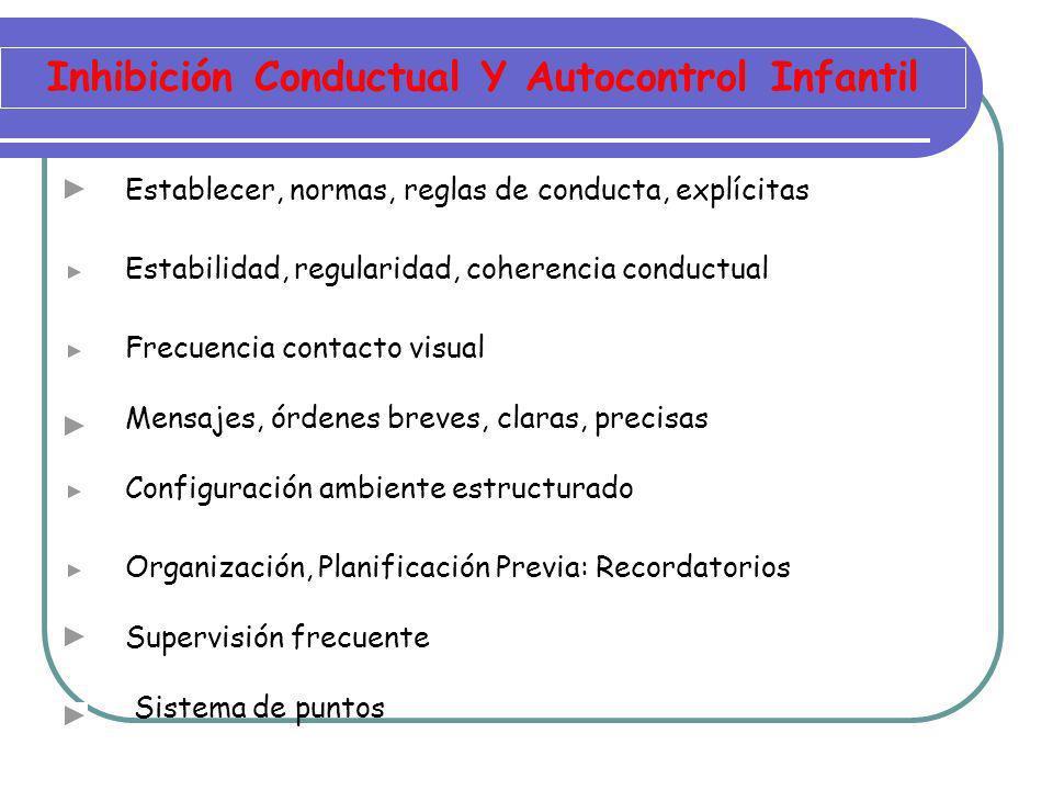Actuaciones Específicas Niño TDAH Organizar, Secuenciar tareas según complejidad Captar la atención.