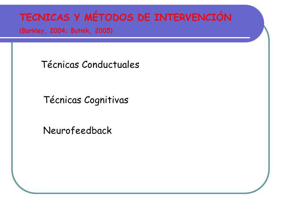 CARACTERÍSTICAS PROGRAMAS MULTICOMPONENTES (Moreno y Servera, 2002) Contenido técnico heterogéneo Extensión temporal del tratamiento Intervención especializada Diversas estrategias según destinatarios y objetivos Condiciones específicas de aplicación