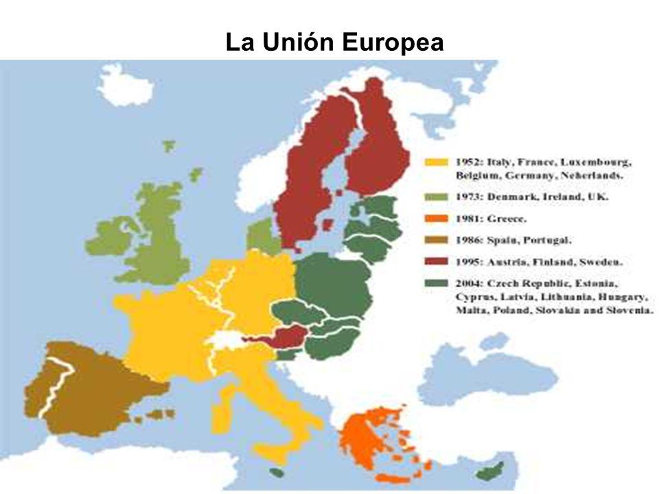Organización de la Comunidad Europea Parlamento Europeo Consejo de la Unión Europea Tribunal de Justicia Comisión Europea Tribunal de Cuentas Poder legislativo y definición del presupuesto.