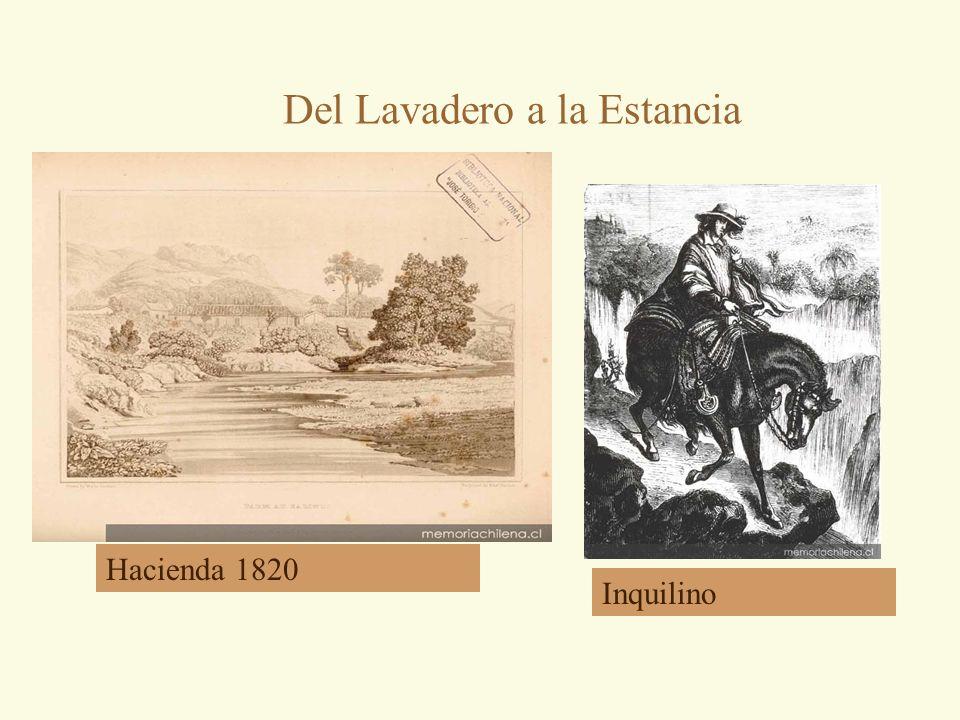 Del Lavadero a la Estancia Hacienda 1820 Inquilino