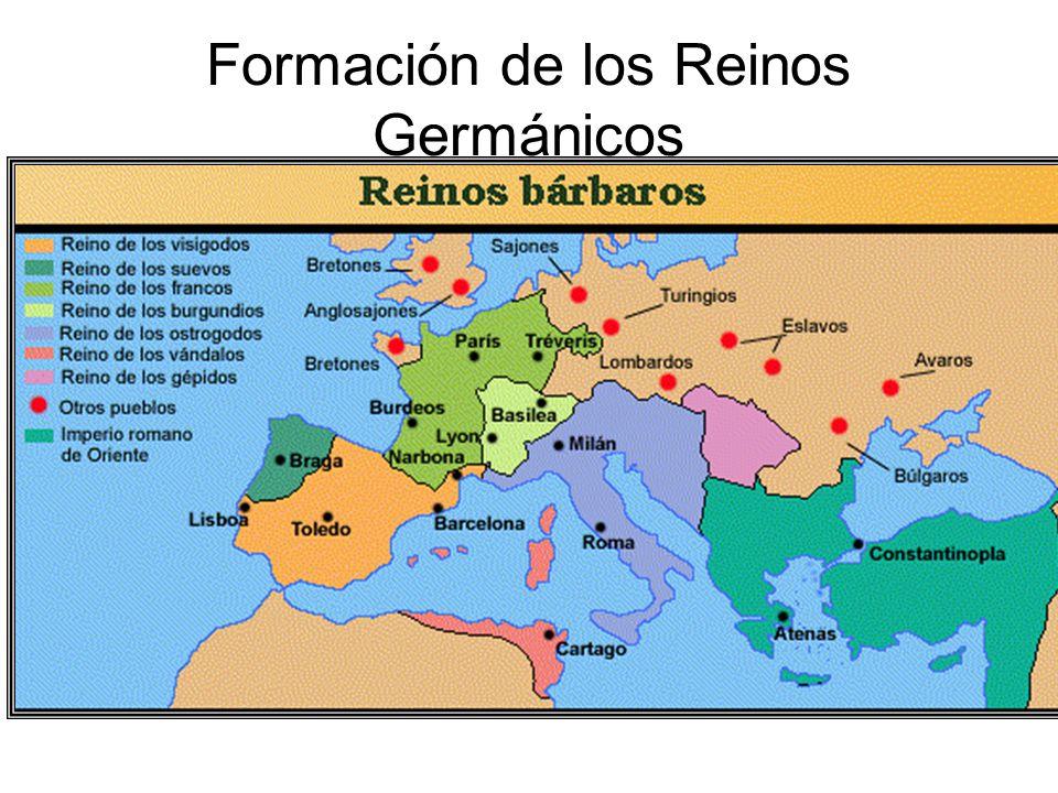 Formación de los Reinos Germánicos