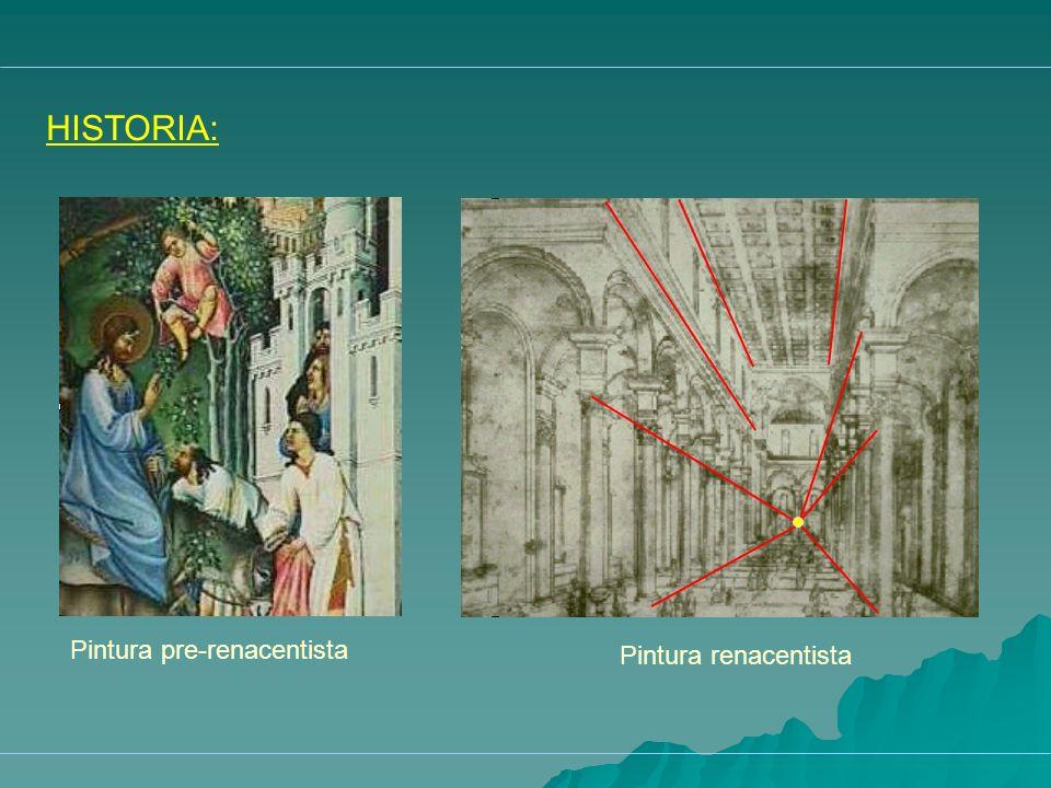 HISTORIA: Pintura pre-renacentista Pintura renacentista
