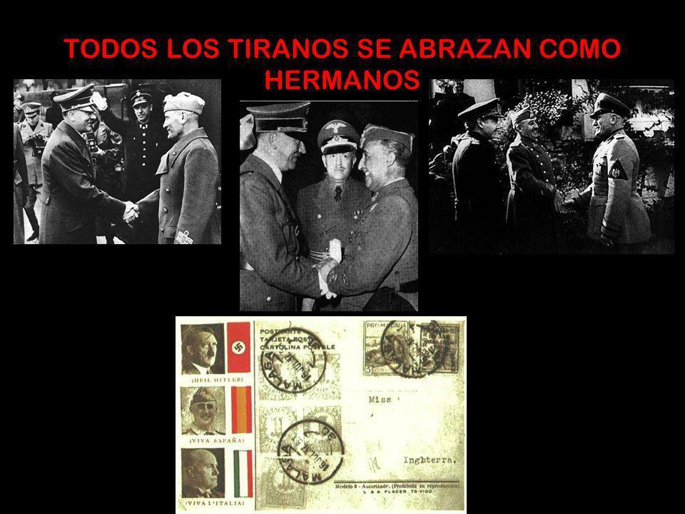 *Creación de grupos paramilitares: Camisas azules en España Camisas pardas en Alemania