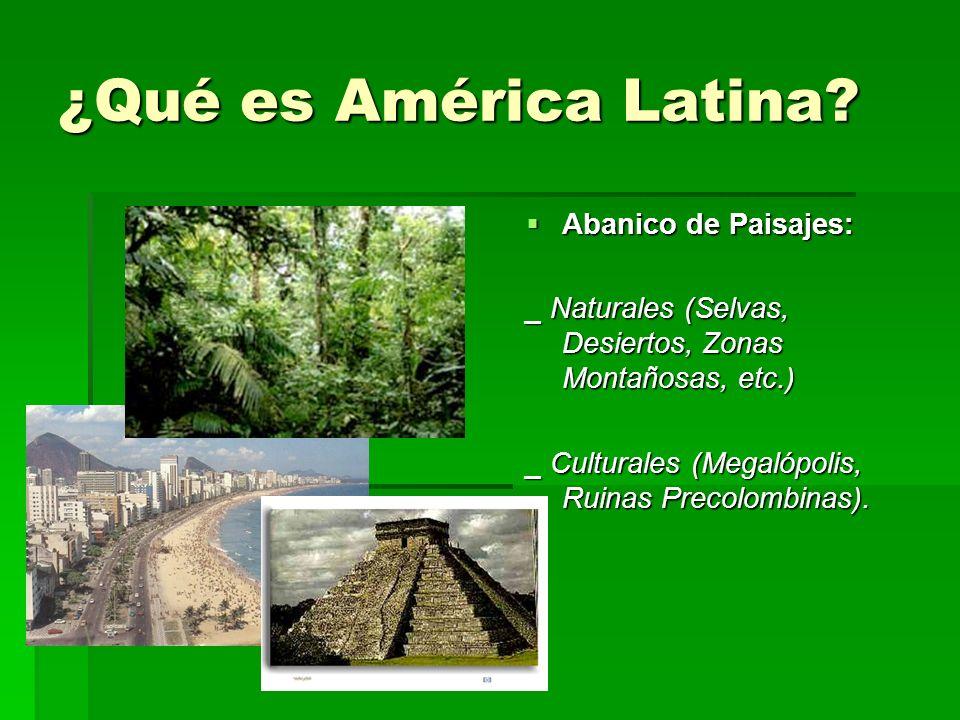 Ubicación de América Latina Límites: Límites: __Norte: EE.UU.